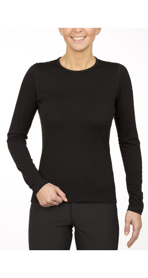 Icebreaker Oasis LS Crewe Shirt Women black